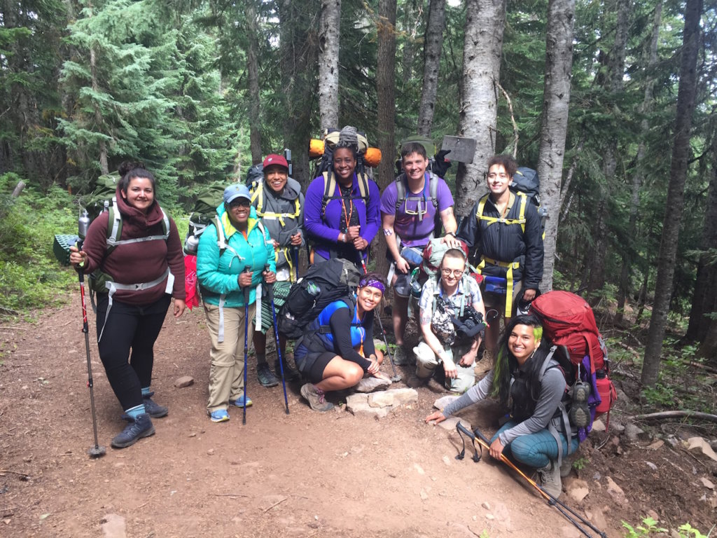 Venture Out group hike