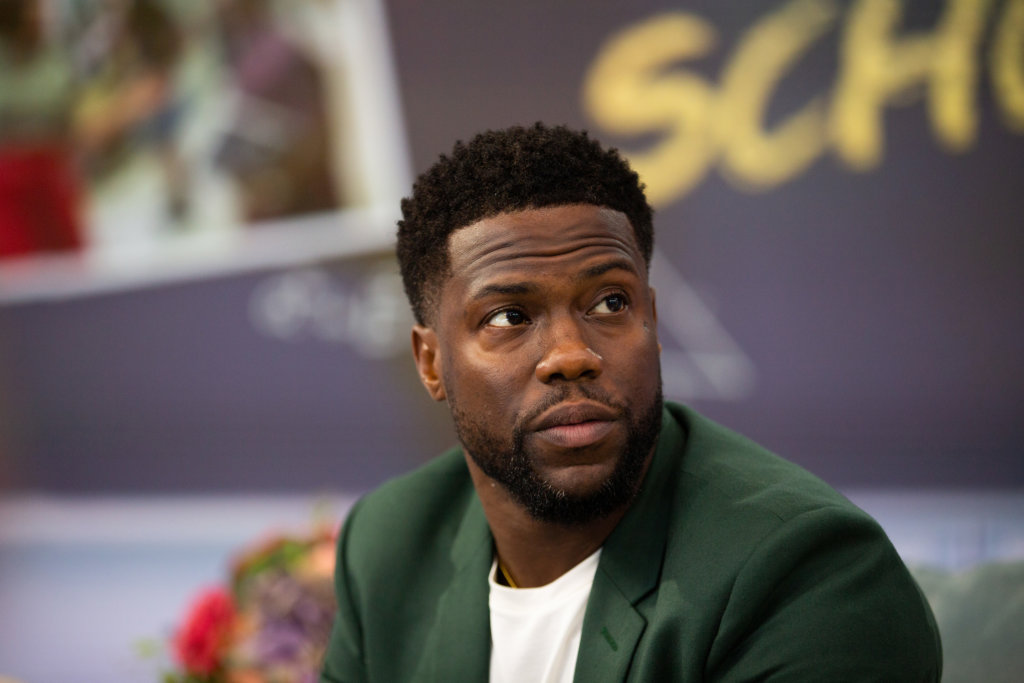TODAY -- Pictured: Kevin Hart on Thursday, September 27, 2018 -- (Photo by: Nathan Congleton/NBC/NBCU Photo Bank via Getty Images)