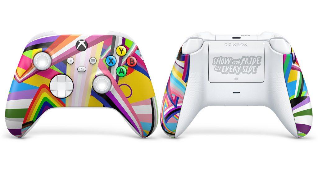 The Xbox Pride controller.