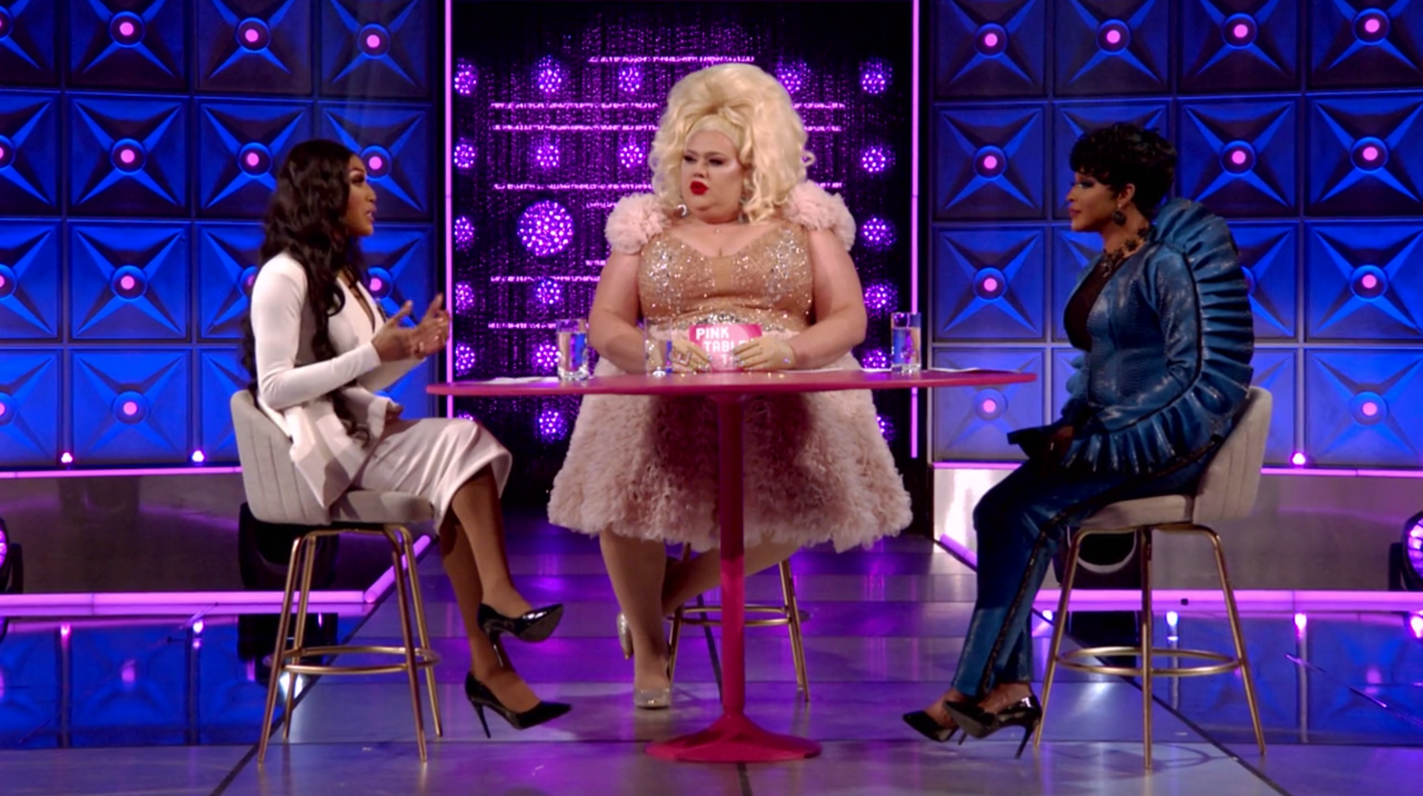 A'keria, Eureka and Trinity's Pink Table Talk about sex.