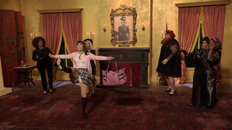 Jan as Lea Michele.