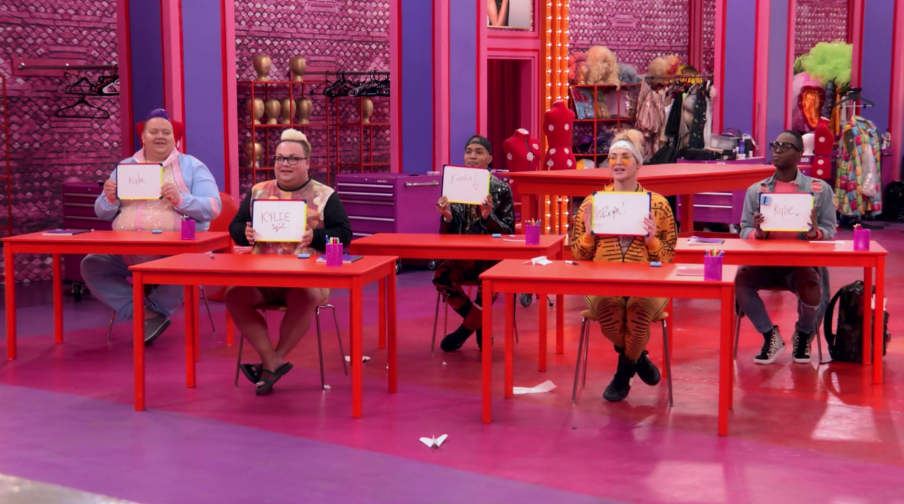 The queens play classroom.