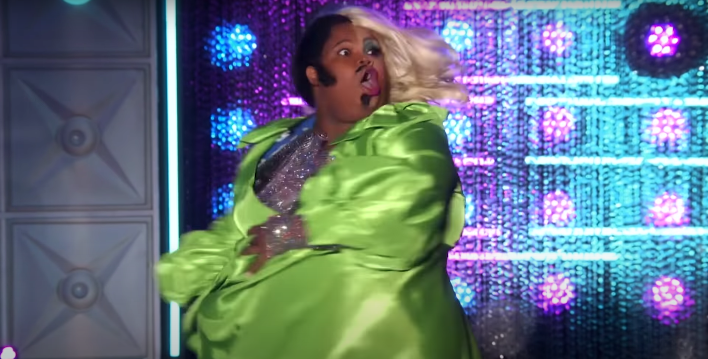 Silky's now iconic half-and-half drag.